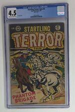 Startling Terror Tales #8-1953 L.B. COLE * PCH * 4.5 CGC 🔥