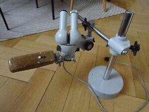 Carl Zeiss West STEMI Stereomikroskop - mit schwerem Schwenkstativ - Okular 25x