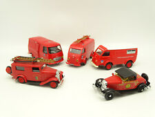 Eligor SB 1/43 - Lot 5 Pompiers : Peugeot J7 - Renault 1000 KG - Ford - Citroen