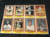 1985 Topps Collectors Series Full 44 Card Set Mantle Mays Aaron Ruth Gehrig