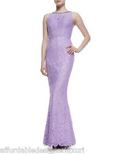 Rachel Gilbert Lainey Cutaway Embellished Lace Gown, Retail