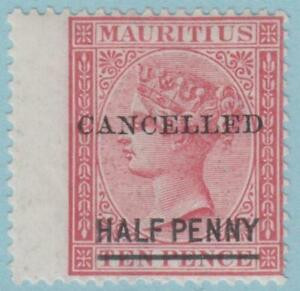 Mauritius 42 Mint Hinged OG * - No Faults Extra Fine!
