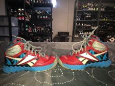 Reebok Marvel Spiderman Boys Youth Athletic Shoes Size 11 Red Black Blue Gray