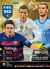 PANINI FIFA 365 - 2016 - CHOISIR 2 STICKERS DANS LA LISTE