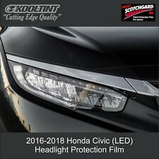 Headlight Protection Film by 3M for the 2016-2 Honda Civic (LED Lights)