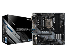 ASRock Z390M PRO4 mATX Motherboard for Intel LGA1151 CPUs