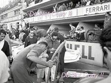 Pedro Rodriguez NART Ferrari 330 P3 Spyder Le Mans 1966 Photograph