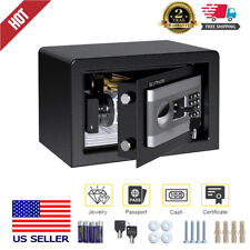 Digital Electronic Safe Box Keypad Cabinet Gun Money Cash Jewel Lock w/Batteries