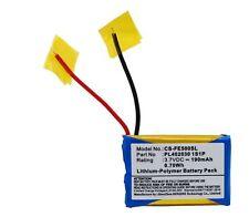 Batterie 190mAh type PL402030 1S1P PL4020301S1P Pour Fiio E3 E5 E6