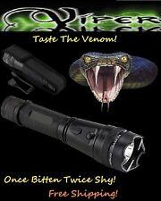 Viper 110 MILLION Volt Self Defense Stun Gun LED Light, free Tazer holster