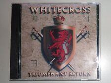 "CD by WHITE CROSS ""TRIUMPHANT RETURN"" / SPCN790-060-1861"