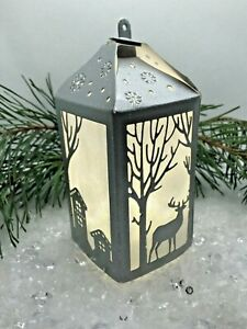 Make your own 3 Woodland Deer Christmas Lanterns from Die Cuts - Choose Kit Card