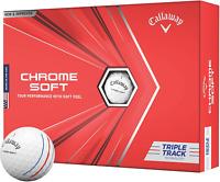 Callaway Chrome Soft Golf Balls 2020, Triple Track White