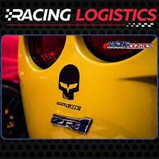 4 x JAKE SKULL CORVETTE CHEVROLET Racing stickers decal vinyl ZR1 Z06 C6 C5 Z07