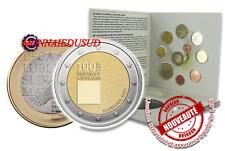 Coffret BU 1 Cent à 2 Euro Slovénie 2019 + 2 Euro CC et 3 Euro