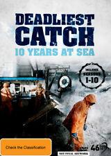 Deadliest Catch Ten Years Complete Season 1 - 10 (dvd 46 Disc)