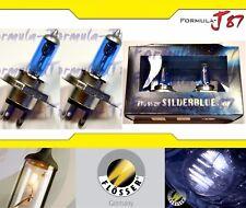 Flosser Silver Blue 5000K White 9003 HB2 H4 100/90W Head Light Bulb Dual Beam OE