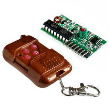 315MHZ  IC2262/ 2272 4 Channels 4 keys Wireless Remote Controller Receiver modul