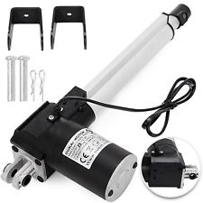 "8"" 6000N Electric Linear Actuator 1320 Pound Max Lift Heavy Duty 12V DC Motor"