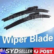2x Frameless Windscreen Wiper Blades For BMW 1 Series E88 Convertible 2007-2012