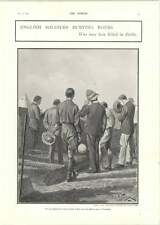 1902 English Soldiers Burying Boers Paarl Affected By The War