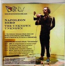 (CC45) Napoleon IIIrd, The Unknown Unknown - 2011 DJ CD