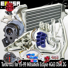T3/T4 Turbo Kits for 95-99 Mitsubishi Eclipse GSX Hatchback 2D 2.0L 4G63 ONLY