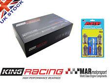 KING RACE Big End / Con Rod Bearings BMW E46 M3 3.2 S54B32 + ARP Bolts