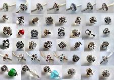 925 ECHT SILBER *** Wählen Sie 8 Armband Module Beads Clips