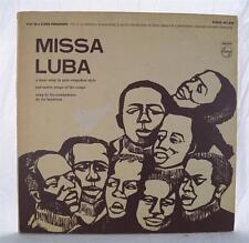 Vintage Missa Lumba Les Troubadours Du Roi Baudouin Album Vinyl LP PCC 606