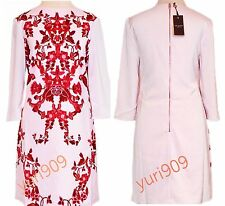 Ted Baker London Pale Pink Odana Ornate China Tunic Dress Size 3 (US 8) $275