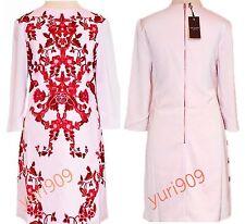 Ted Baker London Pale Pink Odana Ornate China Tunic Dress Size 3 (US 8) $275