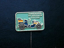 VINTAGE- PIN - BADGE - SAMOCHODEM PO DROGACH - car club - Poland
