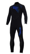 BARE Men's Sport 7mm Semi-Dry Wetsuit MLT Blue