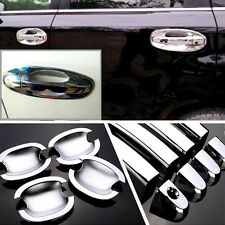 Chrome Door Handle Bowl Cover Cup Overlay Trim For Subaru Forester #HC99