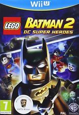 LEGO Batman 2 - DC Superheroes For PAL Wii U (New & Sealed)