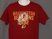 NEW Washington Redskins Football T-Shirt Short Sleeve Top Shirt Men's M Medium