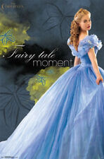 2015 DISNEY LILY JAMES CINDERELLA FAIRY TALE MOMENT POSTER 22X34 FREE SHIPPING