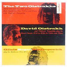 DAVID & IGOR OISTRAKH: Mozart Sonatas Violin, Piano MONITOR USA Vinyl LP NM