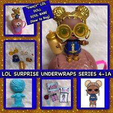 L.O.L. Surprise, Under Wraps, Eye Spy, Series 4-1, FANCY LOL, Soul Babe Lot