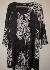 Women's Lane Bryant Top Pullover 3/4 Sleeves Size 18/20 100% Polyester