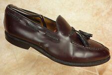 Allen Edmonds Pembrooke Burgundy Leather Tassel Dress Loafer Mens Size 9D