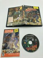 Sony PlayStation 2 PS2 CIB Complete Tested War of the Monsters Ships Fast