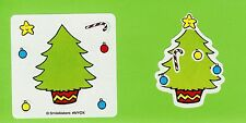 15 Make Your Own Christmas Winter Holiday Tree - Stickers - Party Favors