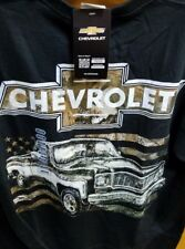 New CHEVY 73 CAMO FLAG FLAG  T SHIRT POWERED BY CHEVROLET