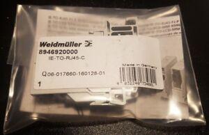 WEIDMUELLER IE-TO-RJ45-C Art. Nr. 894692000 RJ45 Outlet NEU OVP