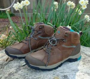 Ariat Taupe Skyline Style 10017287 Leather Hiking Work Boots Women's Size 9.5B
