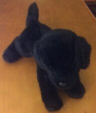 "Douglas Black Labrador Puppy Dog Plush 9"""