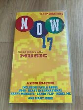 NOW THAT'S WHAT I CALL MUSIC 17 VHS Video