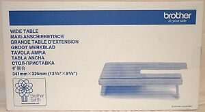BROTHER SEWING MACHINE WIDE EXTENSION TABLE WT13 FITS L14S LS14 HC14 LS17 -B298
